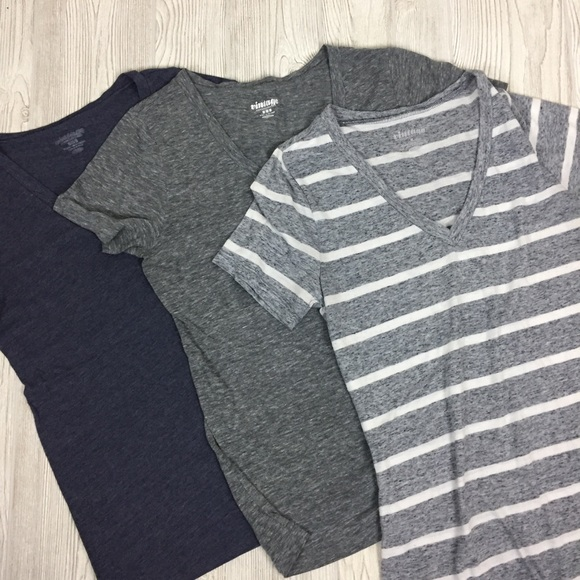 Old Navy Tops - Lot of 3 Old Navy V-Neck Tees